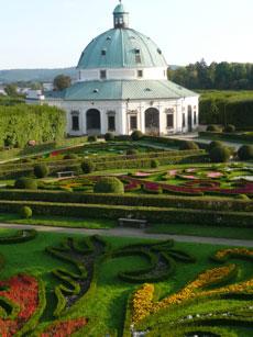 Kromeriz UNESCO Flower Gardens &  Rotunda